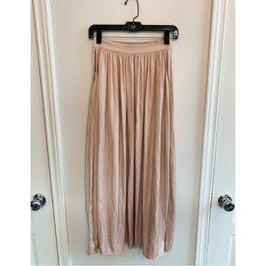 American Eagle Satin Maxi Skirt